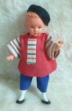 Celluloid Püppchen Puppe 15 cm Puppenstube Junge ähnlich Petit Collin