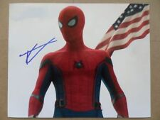 """Tom Holland Signed //Autographed Photo """"Amazing, Peter Parker"""""""
