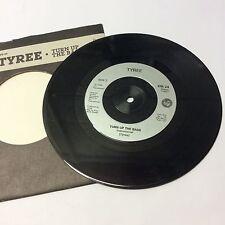 "Tyree 'Turn up the Bass' VG+ Classic Chicago Acid House Phuture Vinyl Single 7"""