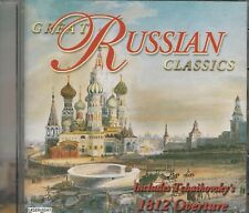 Music CD Great Russian Classics Includes Tchaikovsky's 1812 Overture