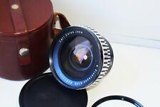 Rare Zebra Carl Zeiss Jena Flektogon f/4 20mm Wide Angle SLR lens M42 SUPER