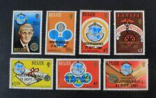 Ckstamps: Gb Stamps Collection Belize Scott#563-569 Mint Nh Og