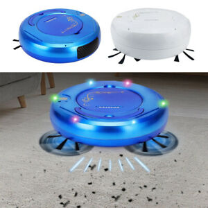 3 in 1 Mopping Sweeping Vacuum Cleaner Robot with 400ml Dust Box Household