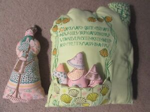 Mary Mary Quite Contrary Handmade Pillow