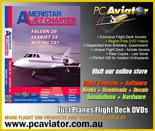 Just Planes Ameristar Jet Charter Flight Deck DVD Video - RARE - New & Sealed