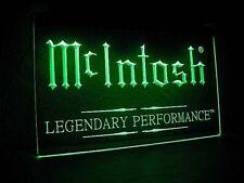 "MC INTOSH ""LEGENDARY PERFORMANCE""  Plaque HiFi"