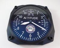 """10/"""" Cessna Altimeter Round Clock"""