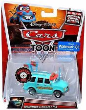 2013 Disney Cars Toon Die Cast Monster Truck Mater Tormentor's Biggest Fan NEW