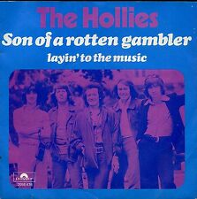 7inch THE HOLLIES son of a rotten gambler HOLLAND +PS EX 1974