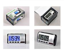 Spy Clock Security Hidden DVR Camera Motion Detector DV with Remote Control 812