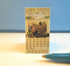 Miniature Old Looking Tractor Calendar Sign : S407