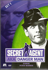 SECRET AGENT AKA DANGER MAN Set 1 NEW DVD 2 Discs Set PATRICK MCGOOHAN