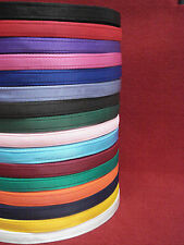 x2,x5,x10,x25,x50 Metres 25mm Cushion Webbing 16 Colours Bags Straps Leads Craft