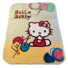 Hello Kitty Buttons  Super Soft Plush Blanket