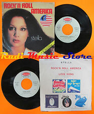 LP 45 7'STELLA Rock'n roll america Love song 1976 italy HARMONY H 6005 cd mc*dvd