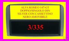 Supporto adattatore radio Alfa 147-GT 147 GT DOPPIO DIN
