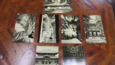 7 Late 50's Rare MODERN Black & White Japanese Post Cards~NOT Posted~NO Writing