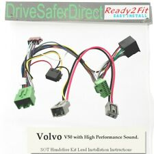 SOT-8583-04 ISO Lead for Parrot CK3100/Volvo V50 04- High Performance Sound