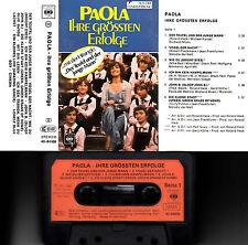PAOLA - Ihre Grössten Erfolge > MC Musikkassette