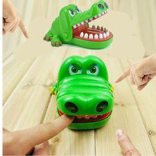 12.5*10.5CM Big Crocodile Mouth Dentist Bite Finger Funny Game Toy For Kids