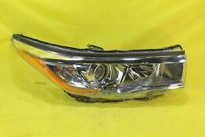 🍶 14 15 16 Toyota Highlander Right RH Passenger Headlight OEM *DAMAGED*