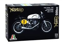 Norton Manx 500cc Motorbike Plastic Kit 1:9 Model 4602 ITALERI