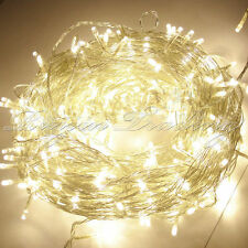Warm White 300 LEDs 32.8M Fairy String Lights Christmas Tree Xmas Party Wedding