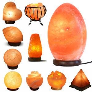 100% GENUINE HIMALAYAN SALT LAMP CRYSTAL PINK ROCK SALT LAMP NATURAL HEALING