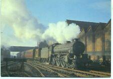 B1 4-6-0 61012 PUKU Newton Heath Manchester1964 photo postcard