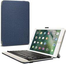 "Infiland Navy Blue Bluetooth Tablet Keyboard Case 9.7"" For iPad Air & Air 2 #AZG"