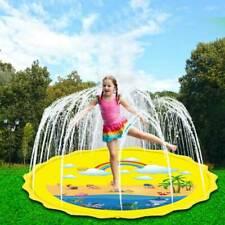 """Sprinkler Pad,Splash Play Wading Pool 68""""Sprinkle Summer Outdoor Party Water Toy"""