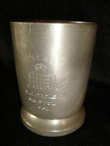 James Dixon & Sons Cornish Pewter 1/2 Pt Tankard  Engraved Portcullis &.........