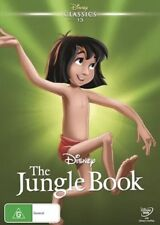 THE JUNGLE BOOK (1967) DVD NEW & SEALED- FREE POSTAGE! REG 4