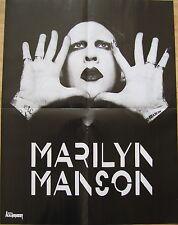 █▬█ Ⓞ ▀█▀ Marilyn Manson // ACCEPT  _  1 Poster / Plakat  _  SIZE  44 cm x 58 cm