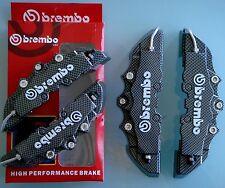 4 CUBREPINZAS CARBONO TAPAS FRENO CUBRE PINZAS brake cover caliper brembo