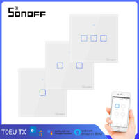 SONOFF T0 EU TX Touch Wall Switches Wifi Wireless Smart Home APP Remote Control