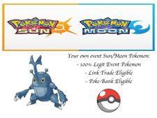 Pokemon Ultra Sun and Moon Korean World Championship2014 Event Pokemon Heracross