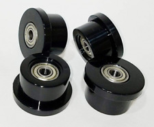 Total Gym Replacement Set of 4 Wheels/Rollers for Models 1000, 1100, 1400, 1500,