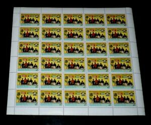 LIBERIA #1123, 1989, MANO RIVER UNION 15th ANNIV., SHEET/30, MNH, NICE LQQK