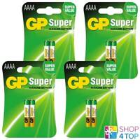 8 GP SUPER ALKALINE AAAA BATTERIES BLISTER 25A LR8D425 LR61 1.5V EXP 2021 NEW