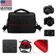 DSLR Digital Camera Bag Carry Waterproof Case Shoulder Strap For Nikon For Canon