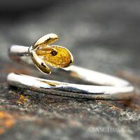 Silberring Silber 925 Ring  Verstellbar Offen