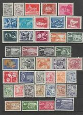 Yugoslavia 1950 - 1956 MH  collection, 79 stamps