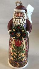 """Jim Shore ~ SANTA Hanging Ornament ~ 4024735 ~ NEW IN BOX~ 5"""""""