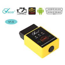 Viecar ELM327 OBD2 OBDII Bluetooth Firmware V1.5 Code Reader Diagnostic Tool 1pc