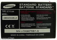 New 3.7V Li-Ion Samsung Cell Phone Battery AB043446LA For SGH-A237 SGHA237 800mA