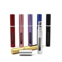 Travel Portable Refillable Perfume Atomizer Empty Bottle Pump Scent Spray Case