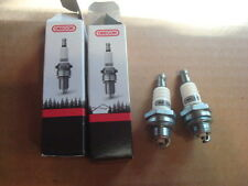 2 Spark Plugs plug Replaces Stihl Husqvarna Chainsaw Trimmer RCJ6Y BPMR7A, WSR5F