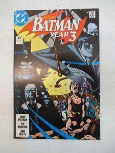 BATMAN #436 1989 NM NEAR MINT 9.6 YEAR 3 PART 1 OF 4 DC ROBIN 1ST APP TIM DRAKE