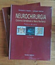 Fessler Sekhar Neurochirurgia Colonna Vertebrale e Nervi Periferici 2 volumi